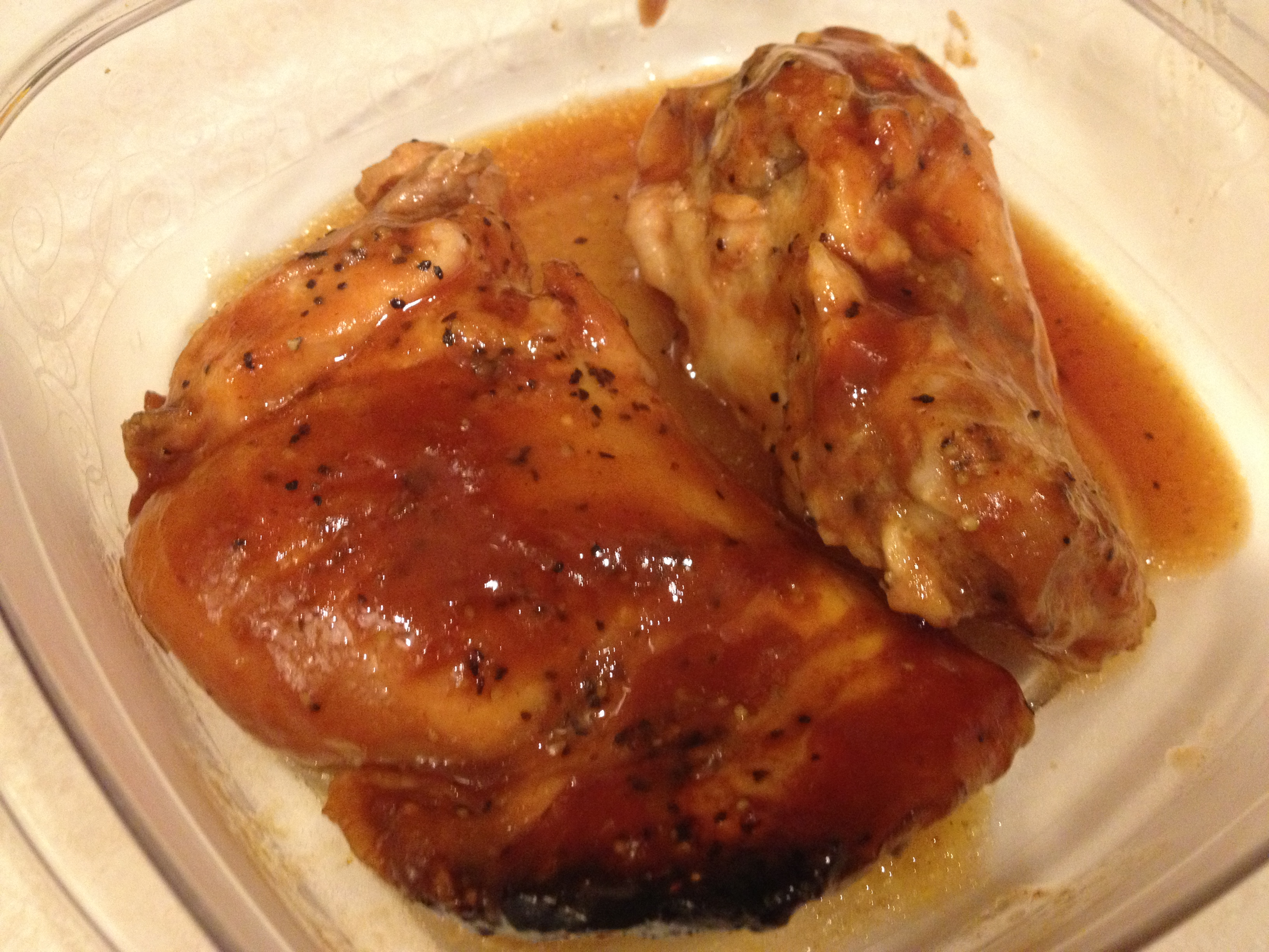 Crock pot bbq chicken thighs made to live for Cooking chicken thighs in crock pot