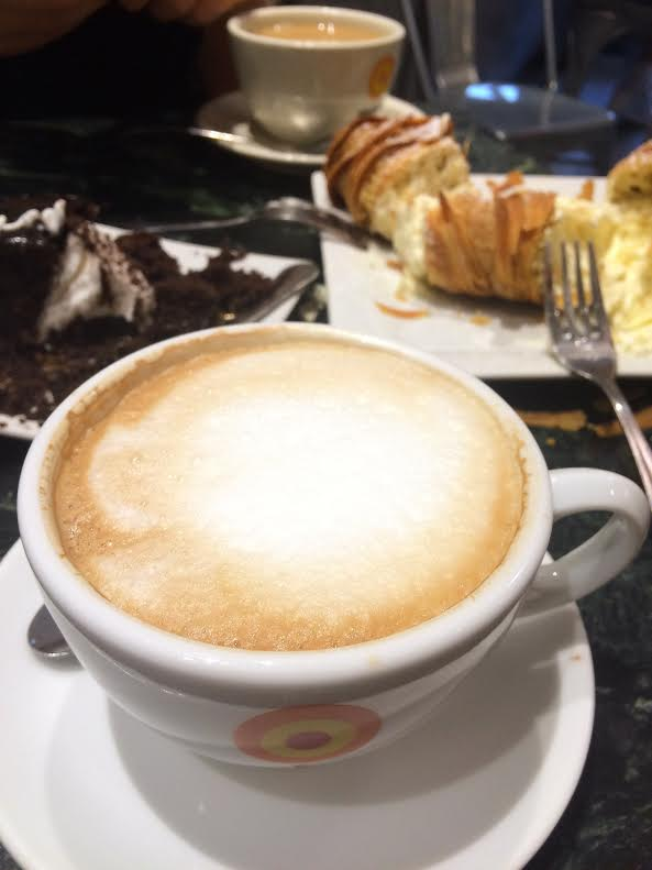 modern bakery with coffee